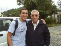 Paulo Henrique e Turíbio Santos em Piraí 2009