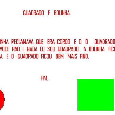BOLINHA E QUADRADO