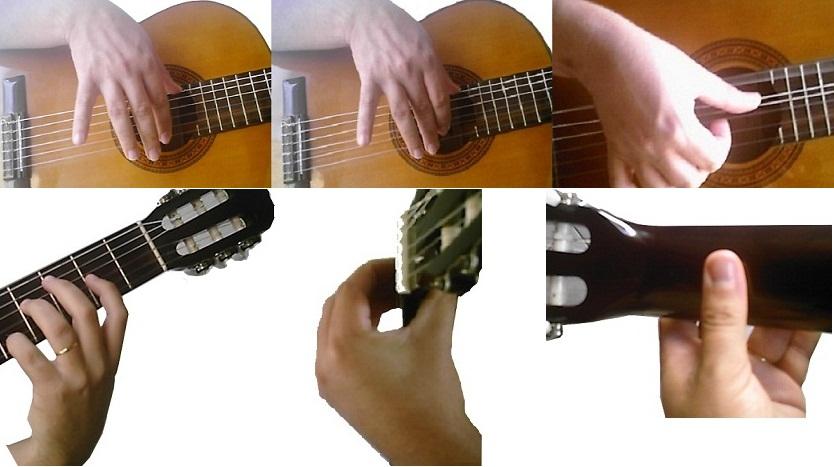 Posicionamento das Mãos