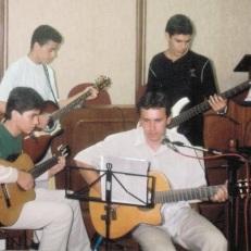 Guilherme, Diogo, Rodolfo e Juarez - 2003 - Câmara Municipal de Piraí