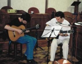 Fábio Brito e Juarez Barcellos - 2003 - Câmara Municipal de Piraí