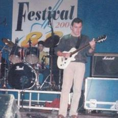 Festival da Rádio 88 em 2004 com a cantora gospel Adriana Agapito