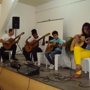 Juarez, Claúdio, Gustavo e Maria Eduarda