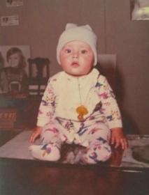 Juarez Barcellos com seis meses
