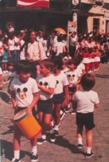 Juarez desfile do Jardim da infância 1982