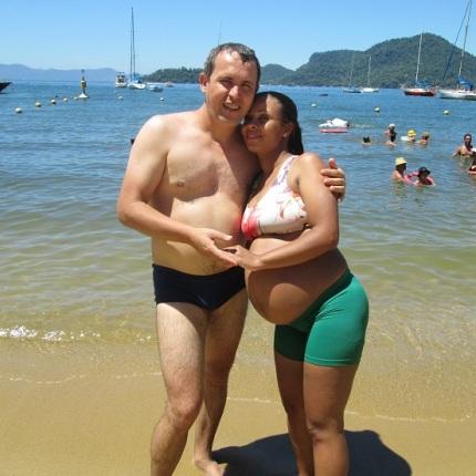 Juarez e Érica Barcellos