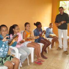 Aula de Pandeiro Jaqueira 2015