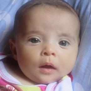 Bárbara 2º mês