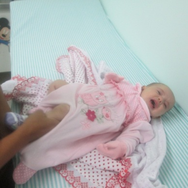 Bárbara 139 2º mês 21 Vacina PSF Casa Amarela