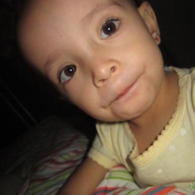 Bárbara 2016 - 2 anos