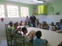 Aula de Pandeiro no Pólo Jaqueira em 2015