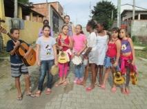 Passeio com alunos no Bairro Jaqueira 2015