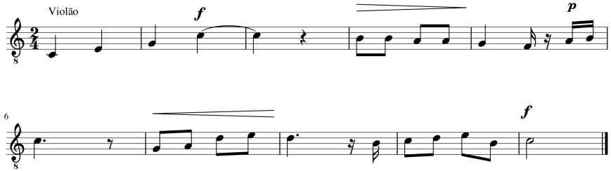 Melodia em dez compassos